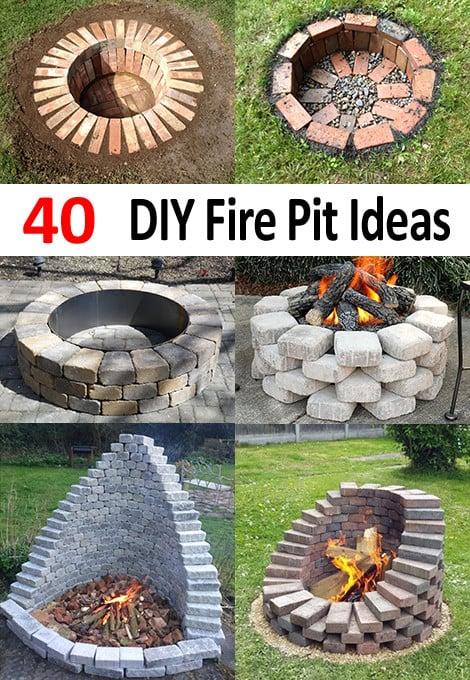 Top 40 DIY Fire Pit Ideas