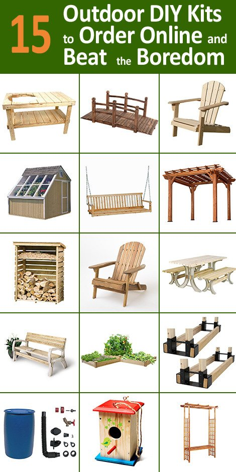 15 Outdoor DIY Kits