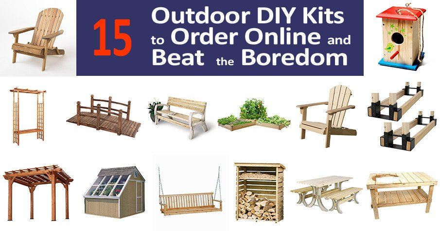 Outdoor DIY kits to build now