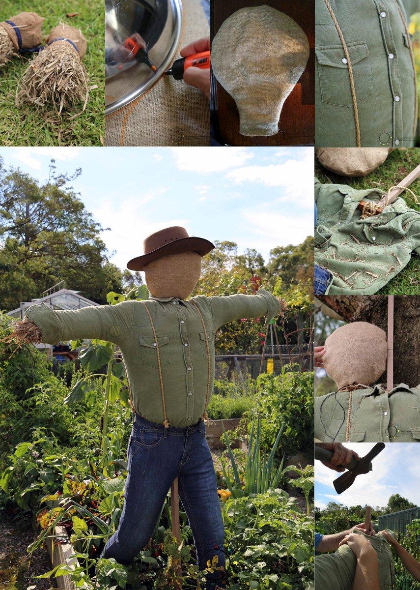 A Very Realistic Scarecrow DIY Tutorial