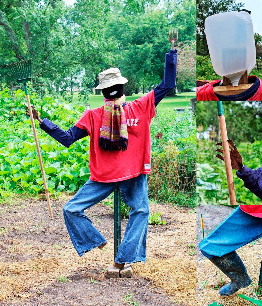 DIY Dancing Scarecrow Design