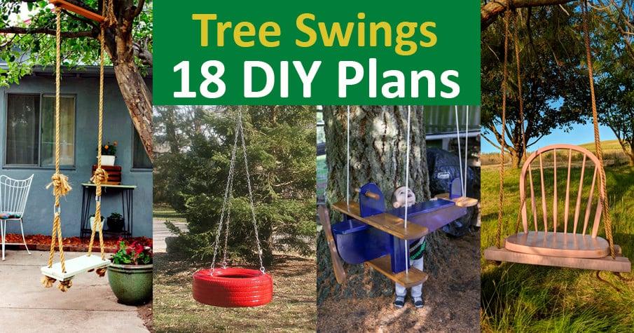 18 DIY Tree Swing Ideas