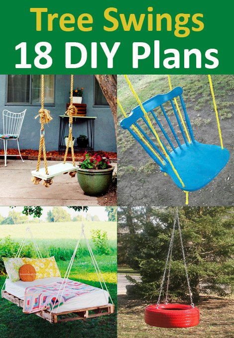 18 DIY Tree Swing Ideas