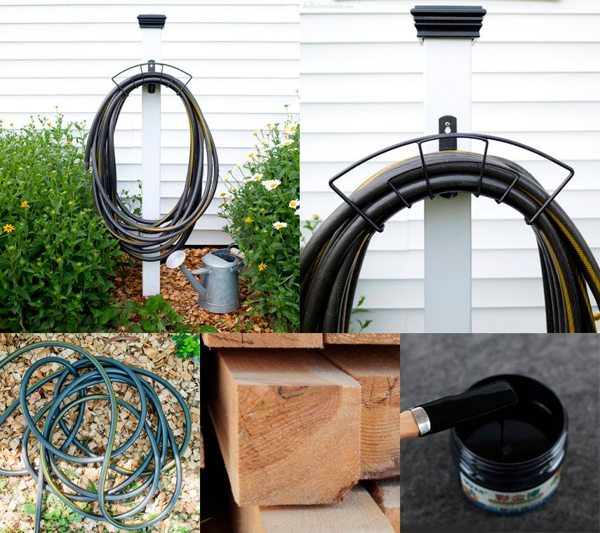 The Rustic Style Hose Stand Plan