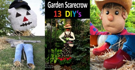 13 Best DIY Garden Scarecrow Tutorials and Ideas