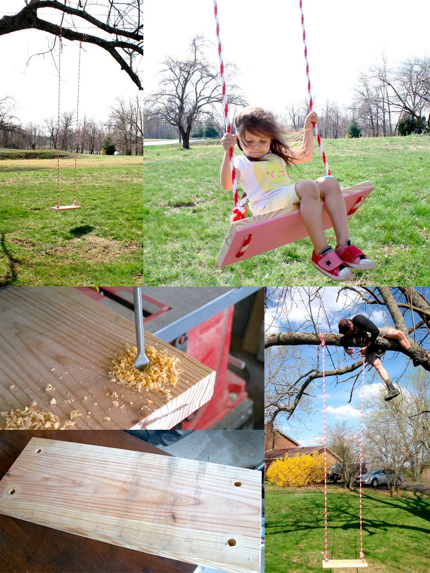 Another classic tree swing idea
