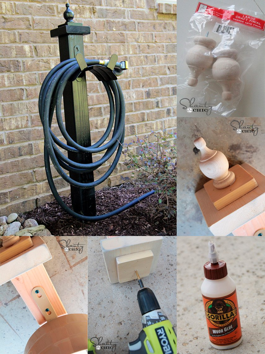 Build a Hose Holder Plan for Under $15