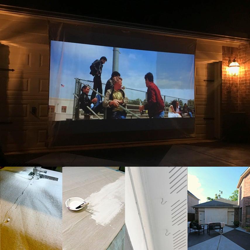 Build this DIY Movie Screen in 6 steps