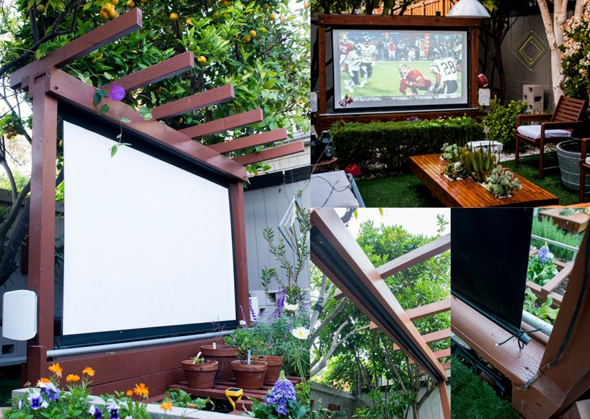 Could this be the best idea for the Outdoor Movie Screen?