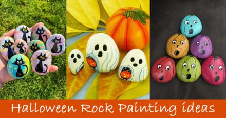 30 Halloween Rock Painting Ideas
