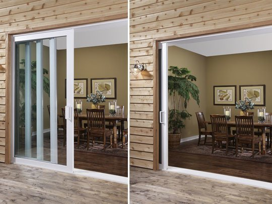 A Pocket Sliding Patio Door example