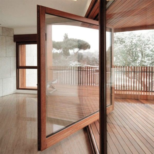 Single Pivot Patio Door by PB Finestre, Italy