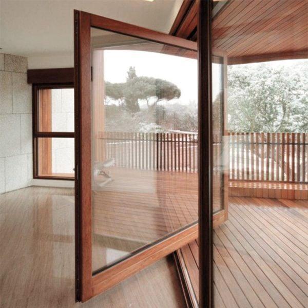 Single Pivot Patio Door by PB Finestre, Italy
