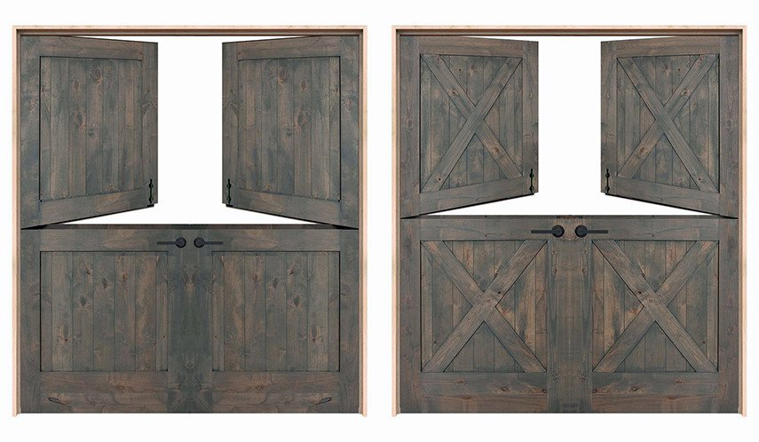 Double Dutch Patio Doors from rustica.com
