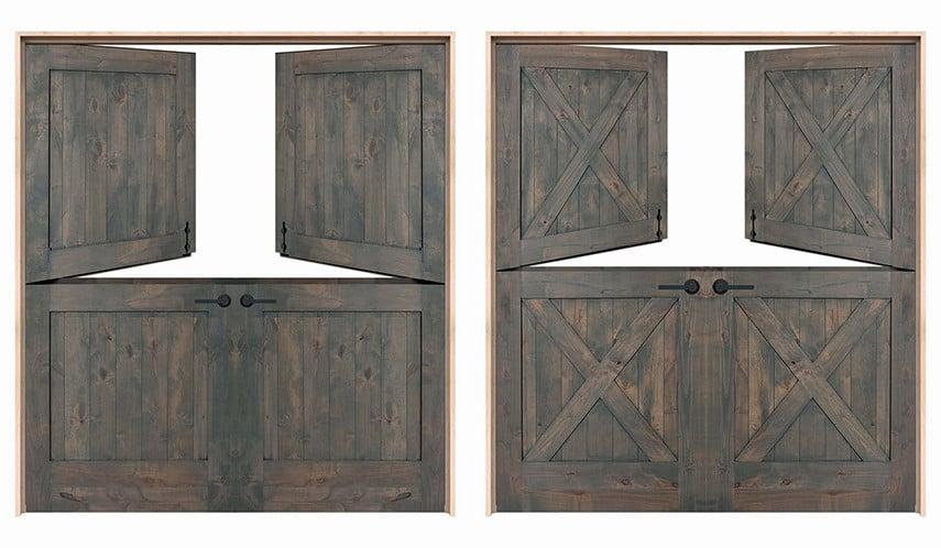 Double Dutch Patio Doors from rustica.com