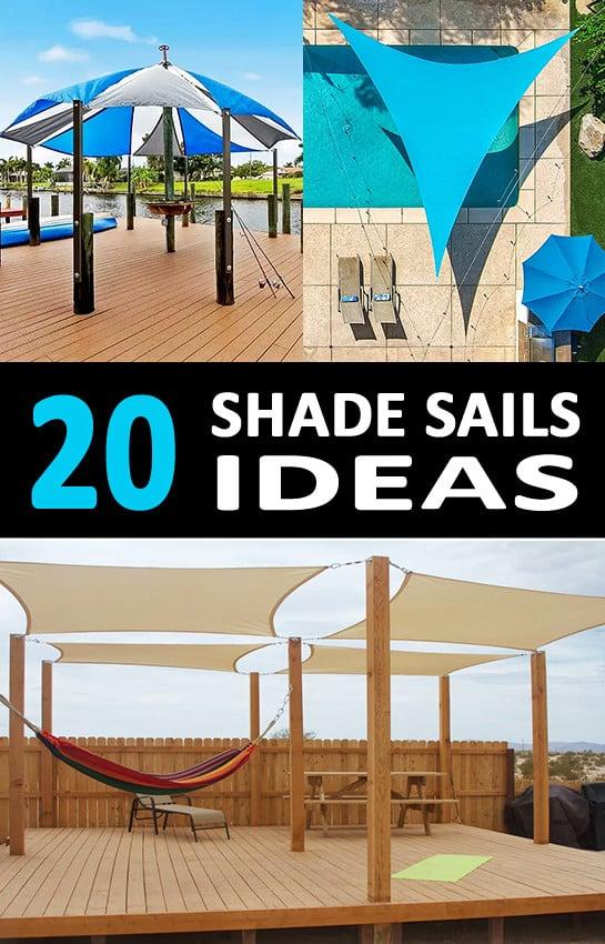 20 Shade Sail Installation Ideas