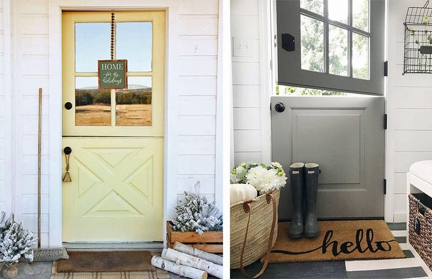 Single Dutch Patio Doors from simpsondoor.com