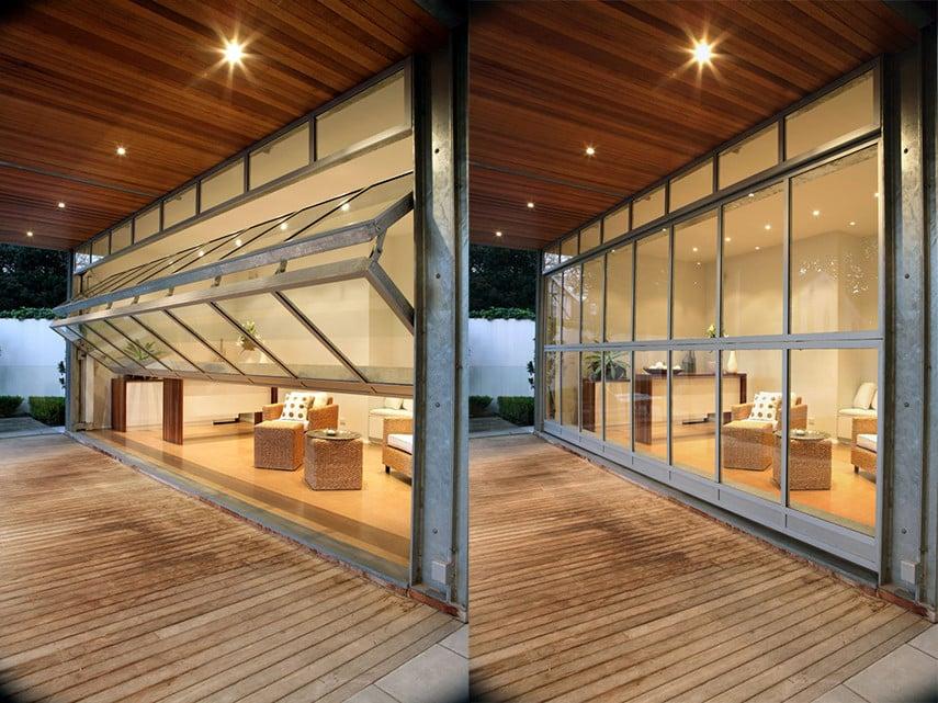 Vertical Folding Patio Doors or Garage Patio Doors