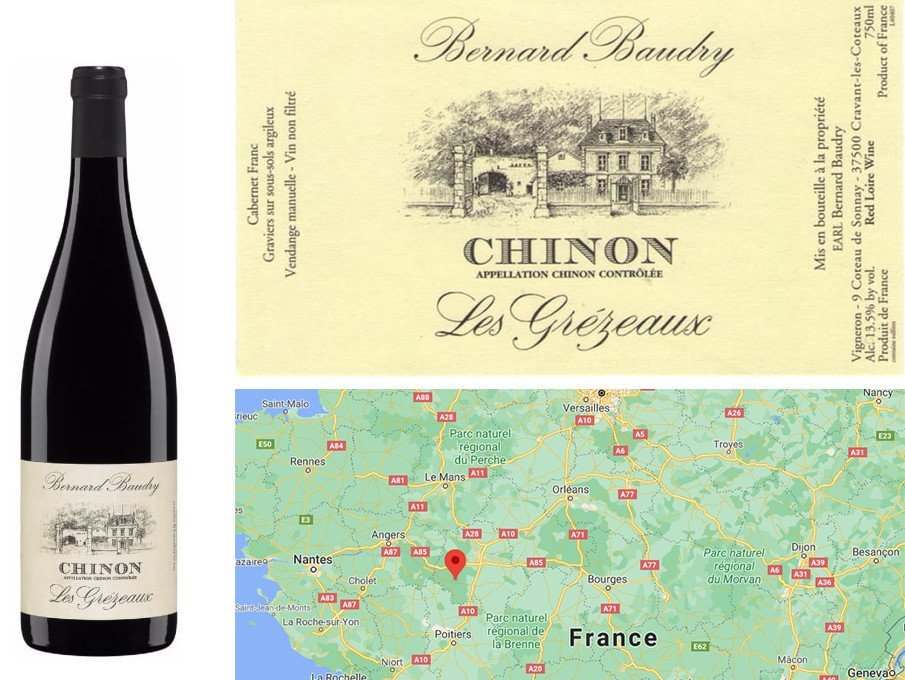 Top Fall Red Wines - Bernard Baudry Chinon Les Grézeaux 2018