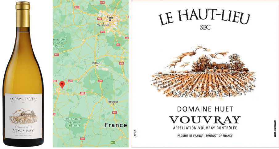 Best White Wines for Fall - Domaine Huet Vouvray Sec Le Haut Lieu 2019