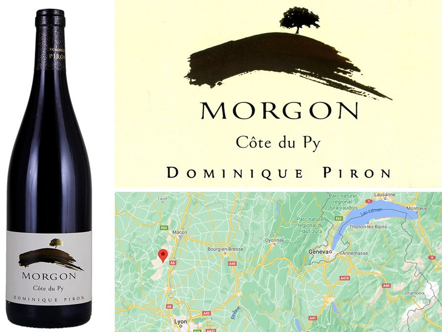 Best Fall Red Wines - Dominique Piron Morgon Côte du Py 2018