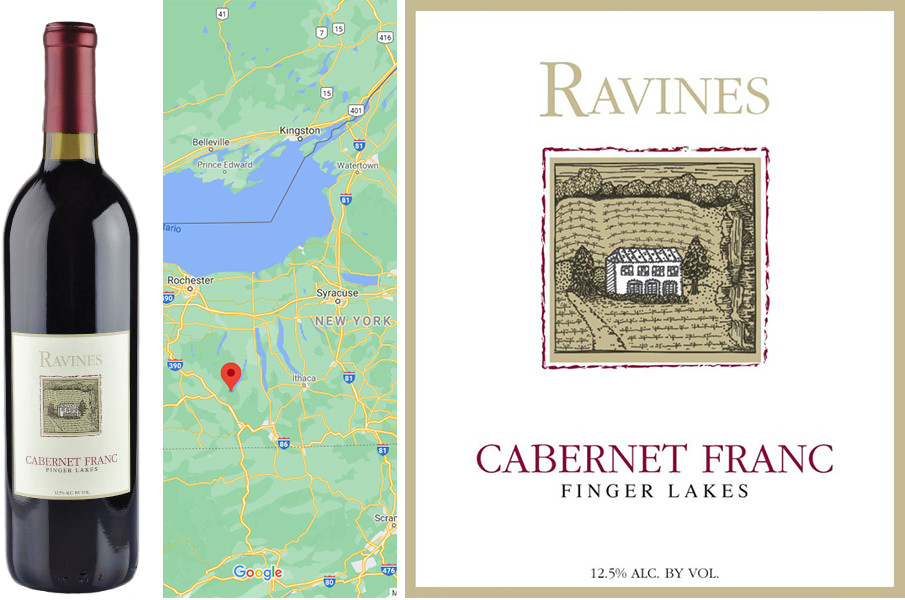 Top Fall Red Wines - Ravines Cabernet Franc 2018
