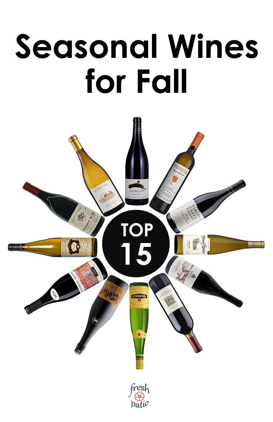 List of best seasonal wines for Fall