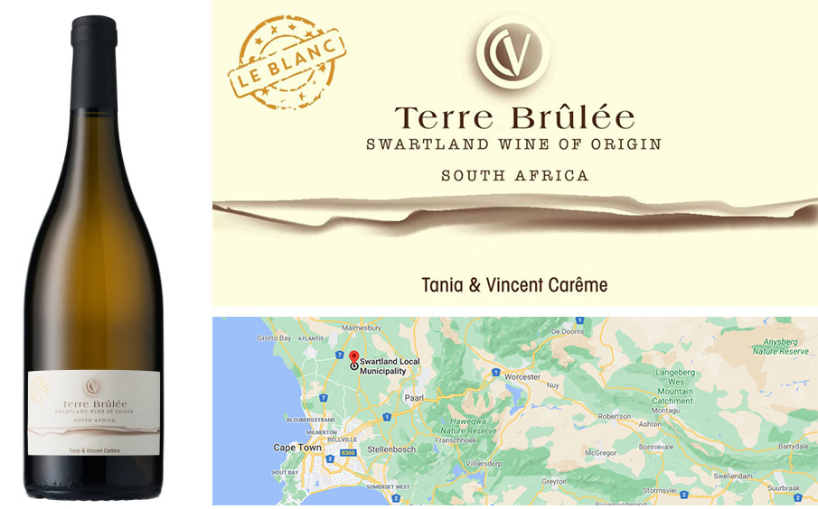 Best White Wines for Autumn - Terre Brûlée Chenin Blanc 2019