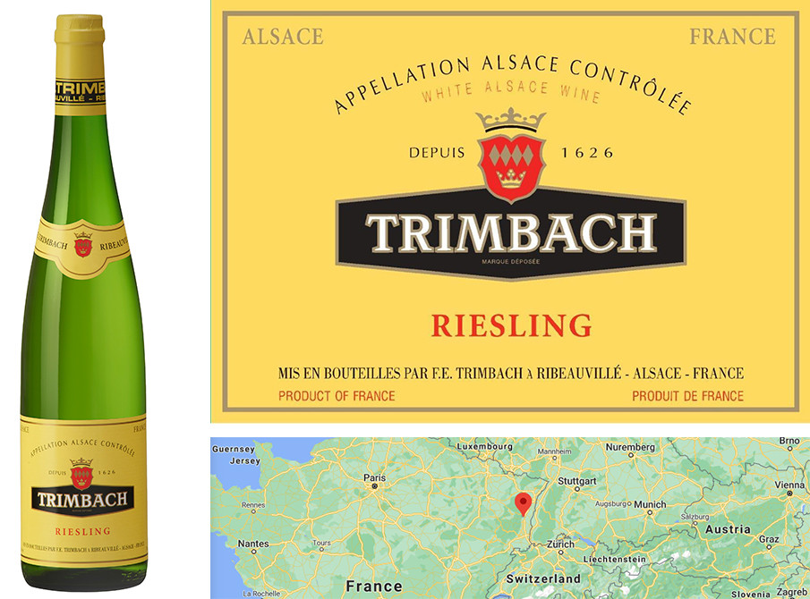 Top White Wines for Fall - Trimbach Riesling 2017
