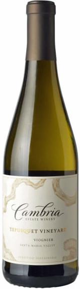 Cambria Tepusquet Vineyards Viognier 2018 white wine