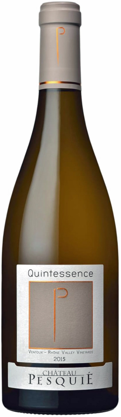 Chateau Pesquie Quintessence Blanc 2015 white wine