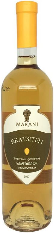 Marani Rkatsiteli Qvevri Amber white wine