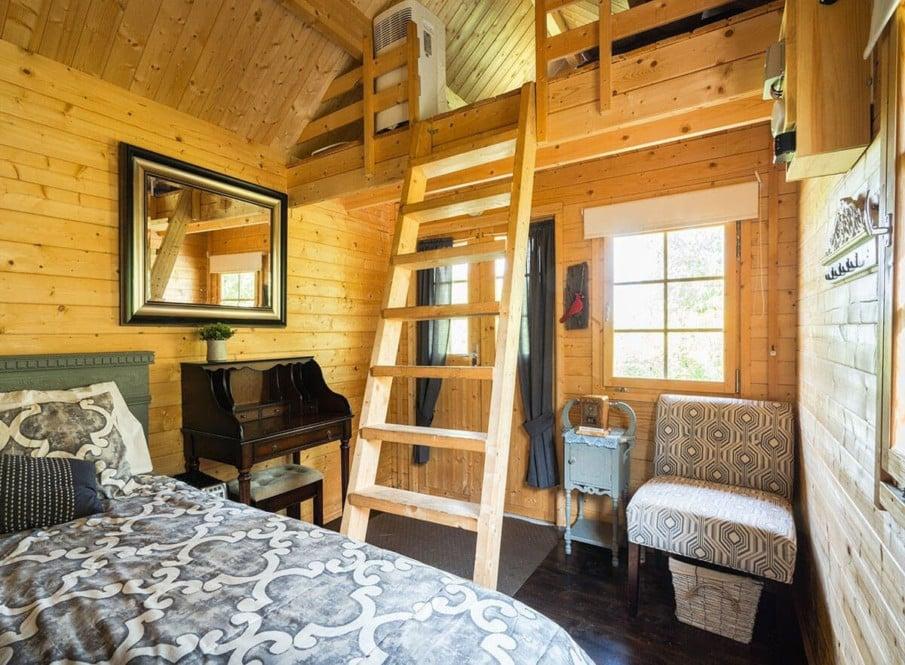 A bunkie interior