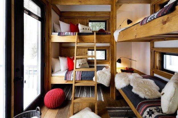 A Bunkie with bunk beds