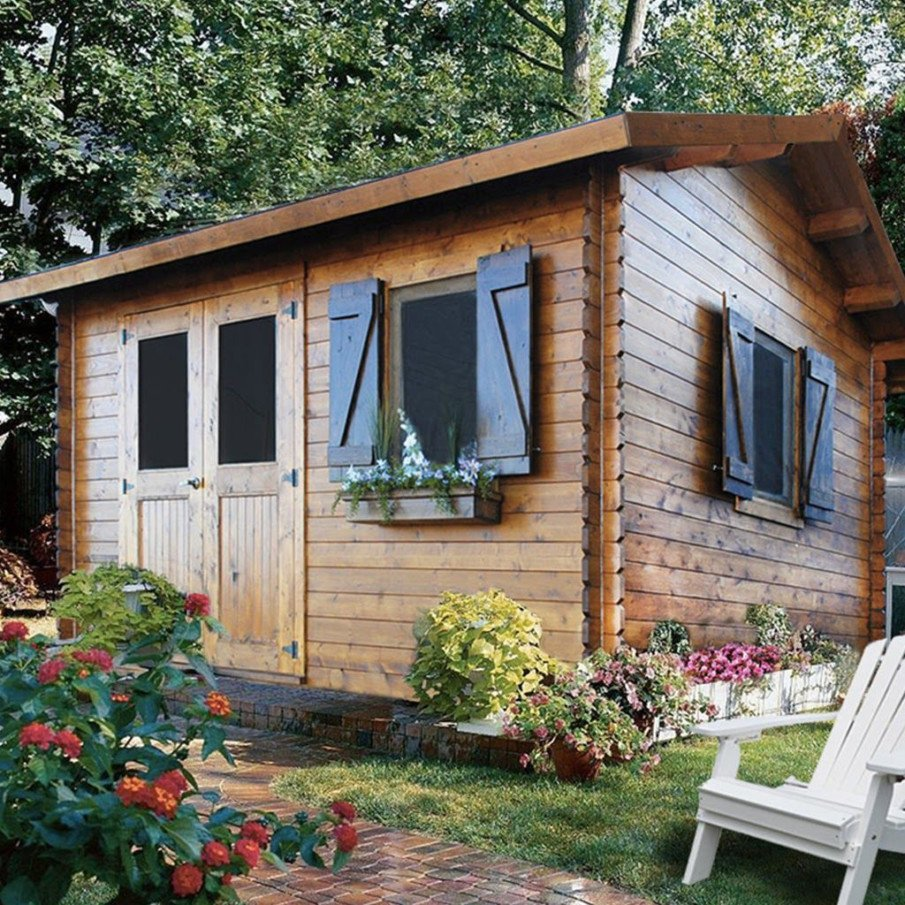 A mini-cottage bunkie