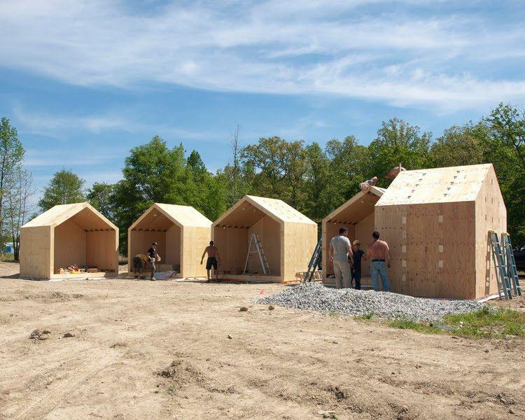 Portable bunkie cabins