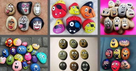 Painted Rock Faces Ideas