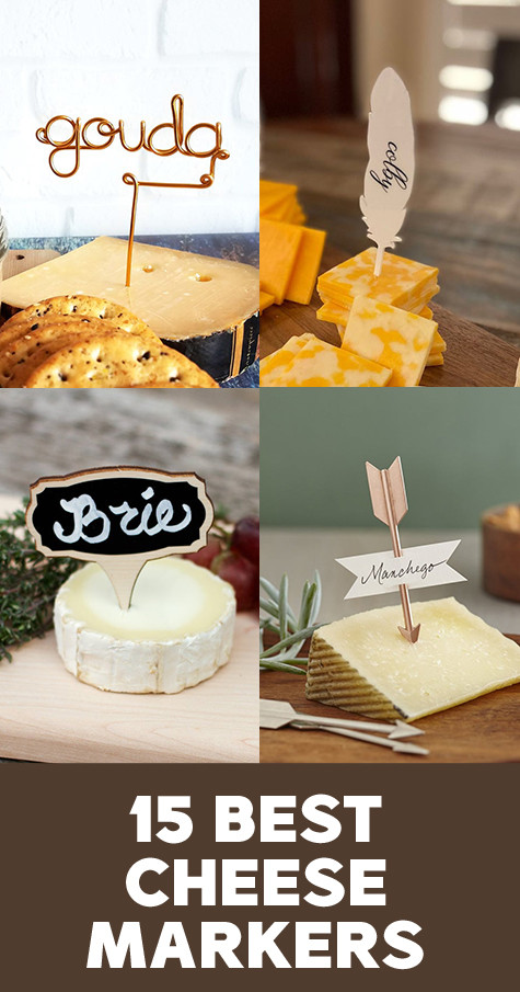 Creative cheese tags ideas