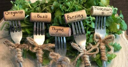 garden herb markers