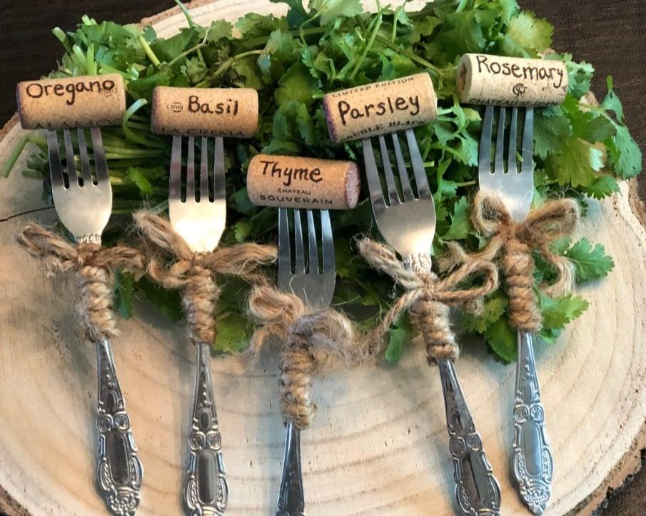 Garden Herb Markers - Ideas and Best Designs