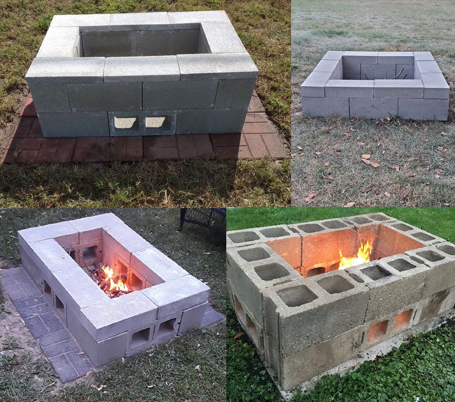 DIY fire pits made from under $60 plan