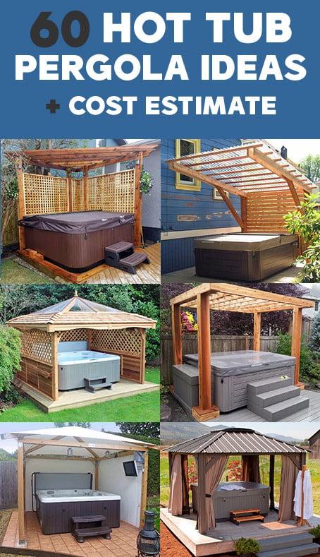 Hot Tub Pergola Designs