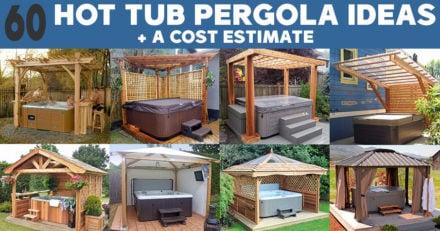 Hot Tub Pergola Ideas