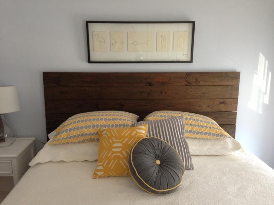 farmhouse headboard diy plan for king size bed