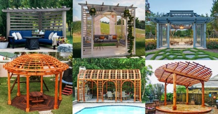 Unique Pergola Designs and Kits