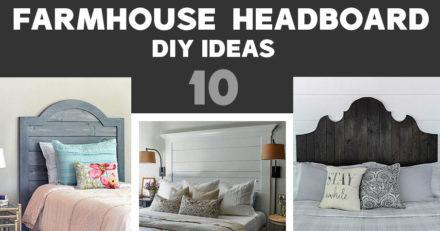 Farmhouse Headboard Ideas