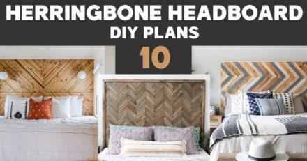 Slatted headboard DIY plans