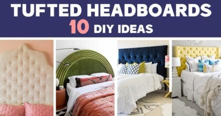 DIY Tufted Headboard Ideas