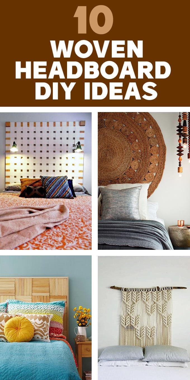 Woven Headboard DIY Ideas