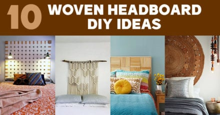 Woven Headboard Ideas